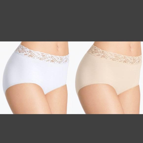 c23f547ee0e3 Wacoal Intimates & Sleepwear   Nwt Panty 875235 Nude White 54   Poshmark